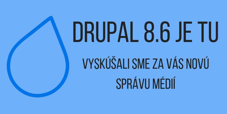 Drupal 8.6 cover