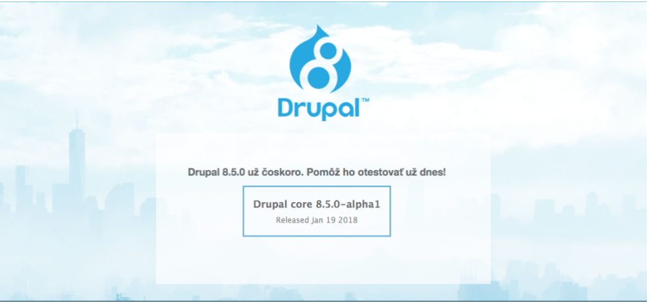 Drupal 8.5, PHP7.2,  Bootstrap 4.0.0