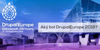 Aký bol Drupal Europe 2018?